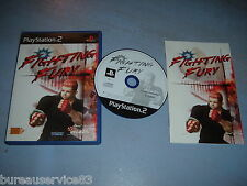 FIGHTING FURY PS2 COMPLET (envoi suivi)