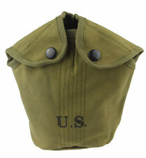 VIETNAM WAR US ARMY MILITARY ARVN WATER CANTEEN CANVAS COVERC POUCH