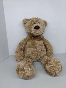 """Vintage Toys R Us Animal Alley Teddy Bear 22"""" Brown Plush Stuffed Animal YR 2000"""