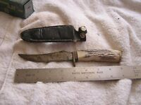 Vintage Schrade Knife USA 498 with Sheath