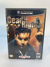 Dead To Rights (Nintendo Gamecube Game) (Complete)