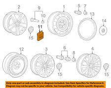VW VOLKSWAGEN OEM 16-18 Passat Wheel-Lock 5Q0698137