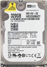 """Western Digital WD3200BUCT 320gb Internal HDD 2.5"""" Slim Sata"""