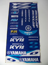 New Yamaha Yz250 Yzf 450 Wr Wrf Xt Xtz Ttr Motocross Decals Sticker Kit 3mm