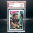 1984 Topps Howie Long Rookie Card #111 PSA 8 NM-MT