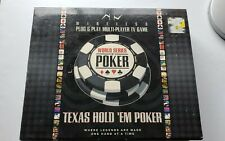 World Series Poker VR39-RS Texas Hold Em Wireless Plug & Play Multiplayer Game