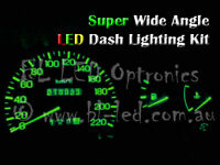 Green LED Dash Light Kit for Nissan Silvia 180SX S13 S14