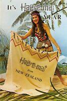 New Zealand Postcard, Maori Maiden in her Native Costume Fashion N.Z 82Z