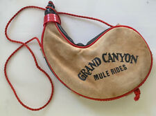 Grand Canyon Mule Rides Souvenir Water Wine Bota Bottle Camping Hiking Canteen