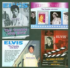 Sierra Leone 2010 - Elvis Presley Film - The Trouble with Girls - Block 640-643