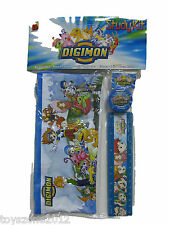 DIGIMON 4-pieces Study Kit FACTORY SEALED