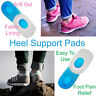Heel Support Pads Orthotic Cushion Gel Cup Insoles For Plantar Fasciitis Pain