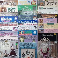 New listing Home Decor Crochet Patterns Thread and/or Yarn Dishcloths Bath + *You Choose