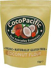 Farine de noix de coco bio, 1 kg - sans gluten à la farine traditionnelle