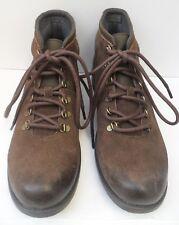 Men's Clarks Faulkner BT ASST Brown Leather Lace Up Boots -Size UK 9.5 EUR 44