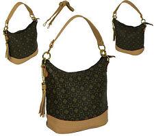 Damentaschen aus PVC mit Fächern
