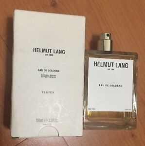 HELMUT LANG EST. 1986 EDC SPRAY 3.3oz Eau De Cologne for Men SPRAY Rare