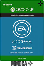 EA ACCESS 12 mese Abbonamento Xbox One 12 Mesi - 1 anno Microsoft Xbox One - IT