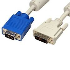 Cable-Tex DVI-A male to 15 pin SVGA / VGA male lead 2m