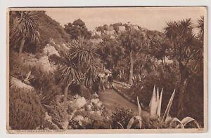 Devon Postkarte - Reihen Spaziergang & Vane Hill, Torquay - P/U 1946 (A3649)