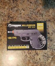 New listing Taurus Licensed Millennium PT111 Spring Powered Airsoft Pistol by CYBERGUN