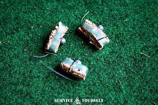 SY Mini Angelset / Angelkit - 3 Stück  (für Survival-Kit, EDC etc)
