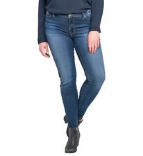 NWT SILVER Bleecker Jegging Jeans Womens Plus Size 20 x 29