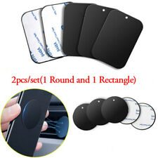 Car Phone Stand Disk Iron Sheet Sticker Holder Plate For iPhone Samsung