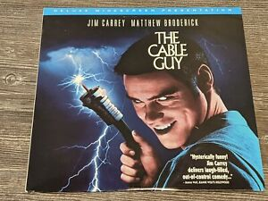 THE CABLE GUY Vintage Laserdisc Video Movie LD Jim Carrey/Matthew Broderick