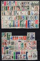AL140366/ FRANCE / 1957 - 1959 COMPLETE YEARS / Y&T # 1091 / 1229 MINT MNH - CV