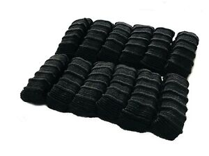 12 PIECE THICK ENDLESS SNAG FREE PONY TAIL ELASTIC BOBBLES PONIOS HAIR BANDS