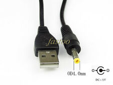 USB a 4.0 mm Punta DC5V cavo di alimentazione PCMCIA NOTEBOOK Laptop Caricabatterie Cavo Di Alimentazione 4 mm