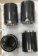 BMW Carbon Fibre Exhaust Tips X 1 Pair
