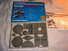 FISCHERTECHNIK Baukasten geo 4, groß, *geometric* OVP mit Anleitung/Blister, TOP
