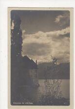 Chateau de Chillon RP Postcard Switzerland 394a