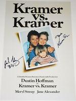 KRAMER VS. KRAMER CAST SIGNED X2 AUTOGRAPHED 12X18 PHOTO POSTER ALEXANDER HENRY