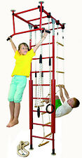 Sprossenwand Indoor Klettergerüst für Kinder Schaukel Ringe  Kletterdschungel