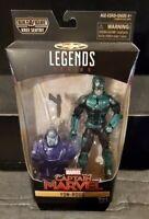 Hasbro Marvel Legends Captain Marvel Yon-Rogg Action Figure Kree Sentry BAF