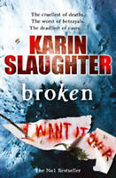 KARIN SLAUGHTER __ BROKEN __ BRANDNEU __ WERBEANTWORT UK