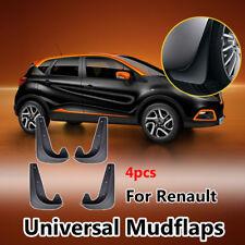 Set Universal Mudflaps For Renault Megane Laguna Kangoo Clio Mud Flap Mudguards