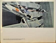 Star Wars X-WING ASSAULT On DEATH STAR CONCEPT PRINT McQuarrie 1977