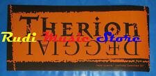 ADESIVO STICKER THERION Deggial 16X7,5 CM cd dvd lp mc vhs promo live