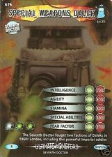 DR WHO ULTIMATE MONSTERS RARE 676 SPECIAL WEAPONS DALEK