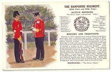 MILITARY : Hampshire Regiment -J McNEILL