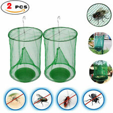 2 x The Ranch Fly Trap Outdoor Fly Trap - Killer Bug Cage Net Perfect For Horses