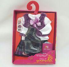Notre génération 18 pouces un taid Plaid Regular Doll Outfit