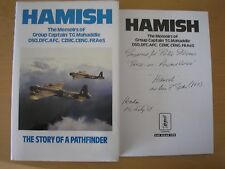 GROUP CAPTAIN T.G. MAHADDIE-HAMISH - STORY OF A PATHFINDER 1/1 HB/DJ 1989 SIGNED