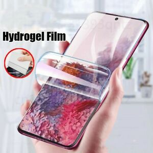 Hydrogel Film Screen Protector For Samsung Galaxy S10 S20 S9 Plus A70 A30S S10E