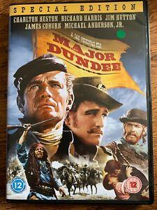 Major Dundee DVD 1964 Sam Peckinpah Western Movie Classic w/ Charlton Heston