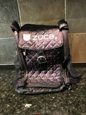 Zuca Insert Black Quilted with Rhinestones, Bag Only no Frame